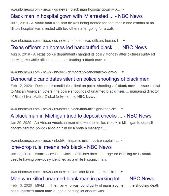 NBC black man