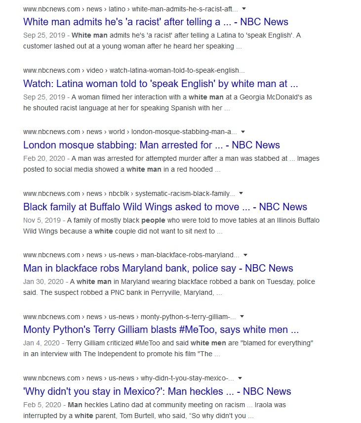 NBC white man